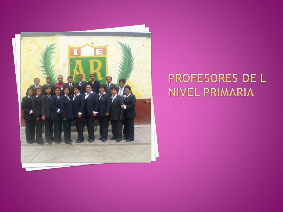 PROFESORES DE L NIVEL PRIMARIA