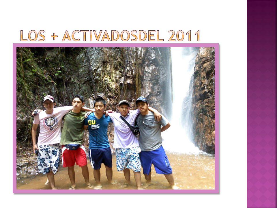 LOS + ACTIVADOSDEL 2011