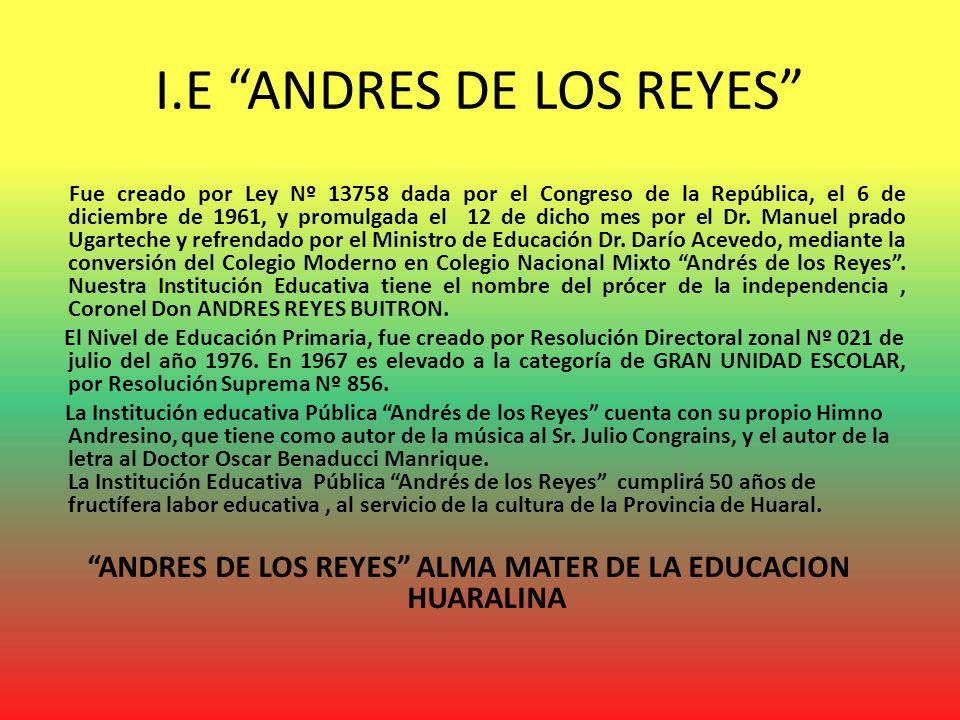 I.E ANDRES DE LOS REYES