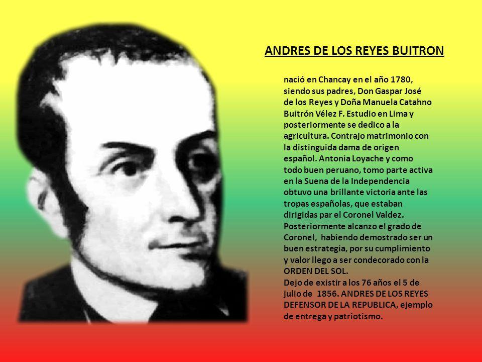 ANDRES DE LOS REYES BUITRON