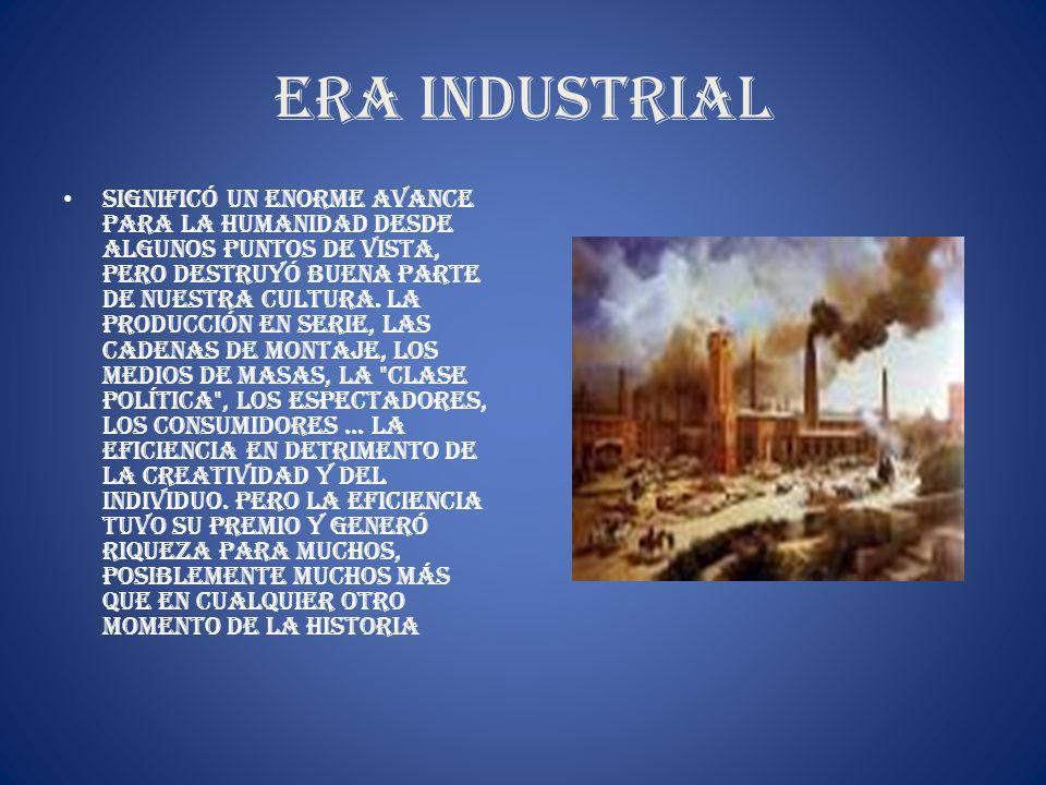 Era industrial