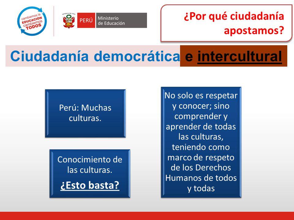 Conocimiento de las culturas.