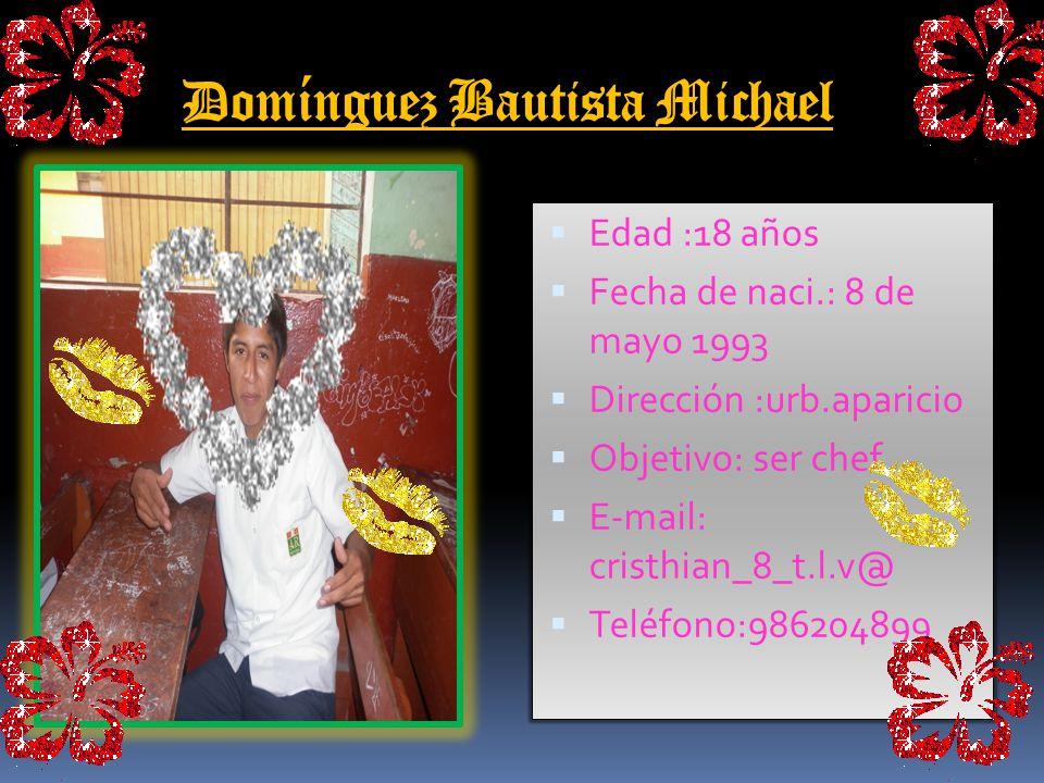 Domínguez Bautista Michael