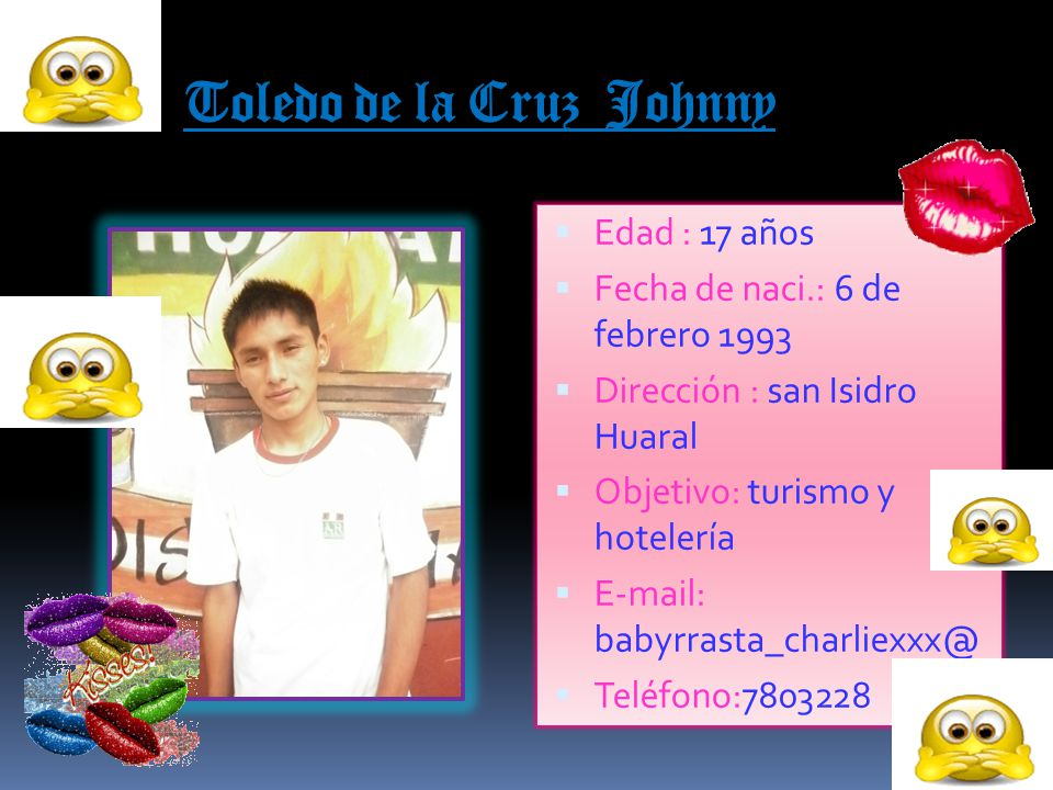 Toledo de la Cruz Johnny