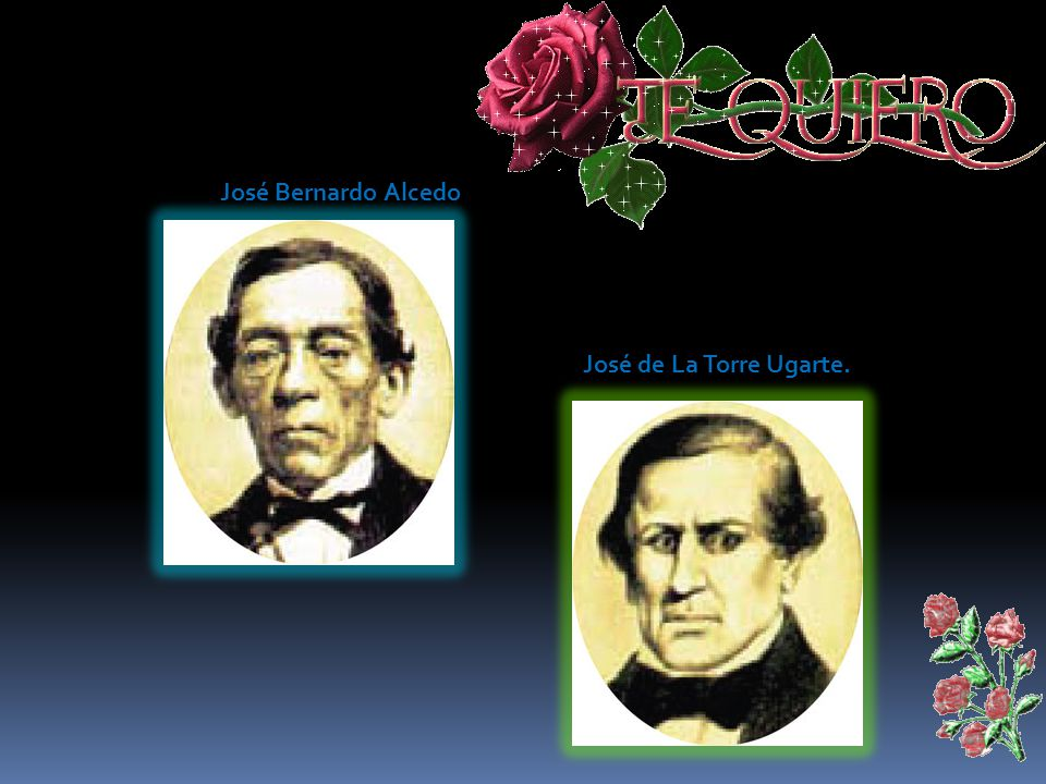 José Bernardo Alcedo José de La Torre Ugarte.