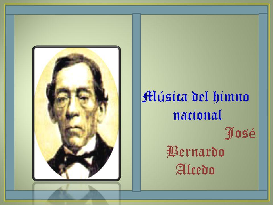 Música del himno nacional José Bernardo Alcedo
