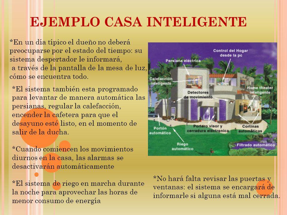ejemplo casa inteligente