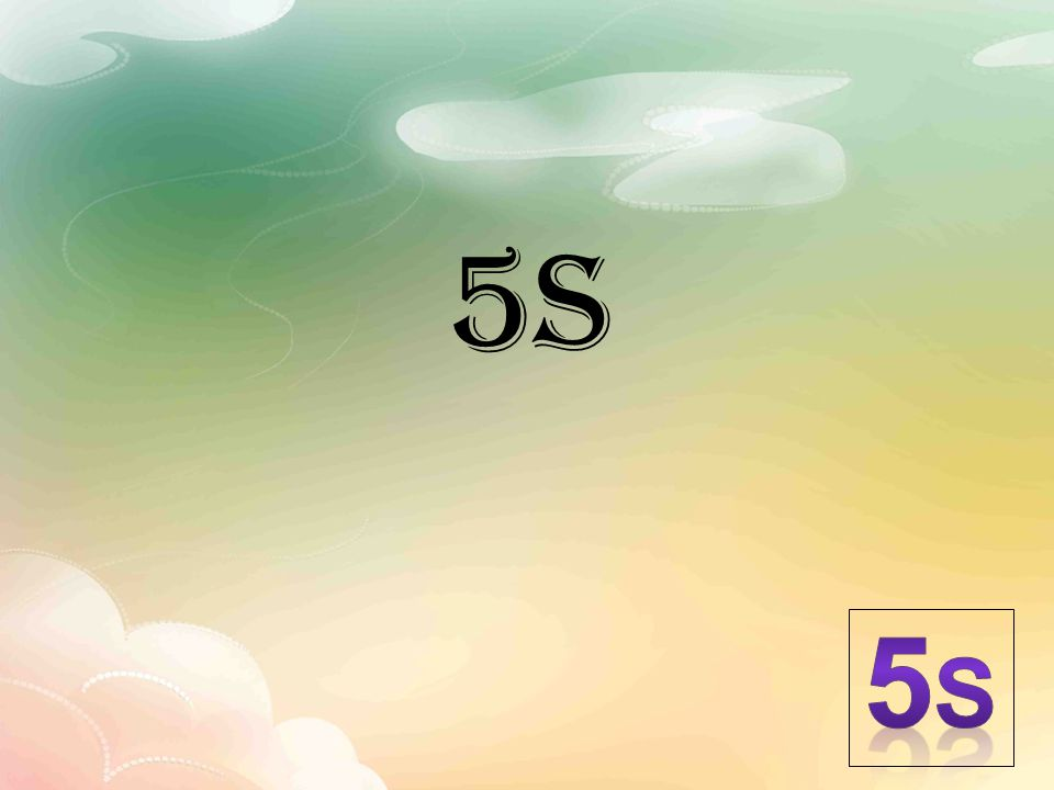 5s 5S