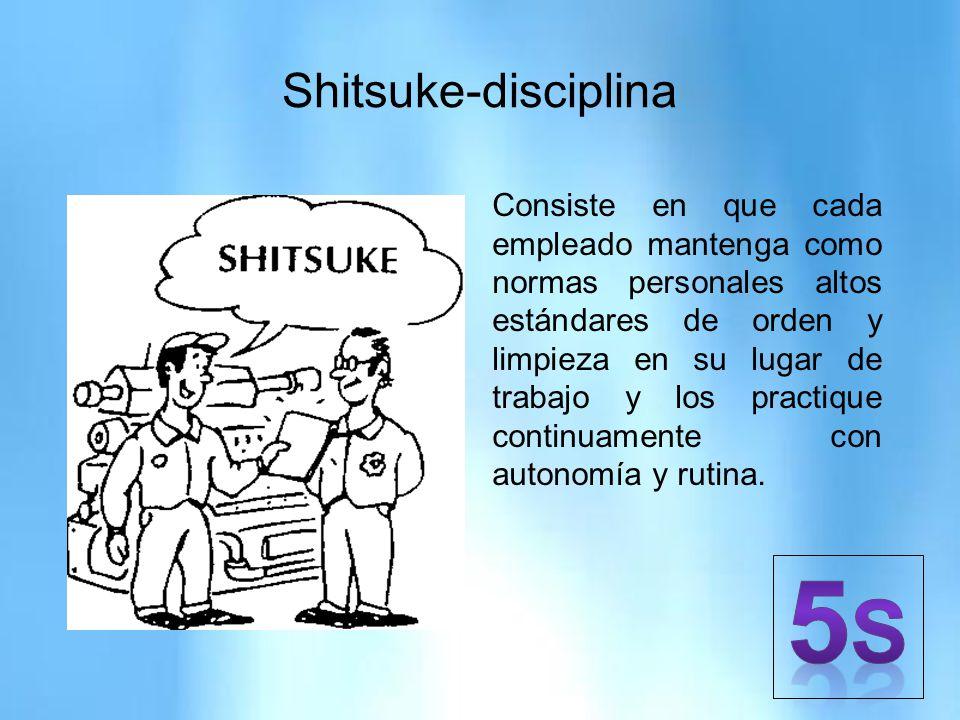 5S Shitsuke-disciplina