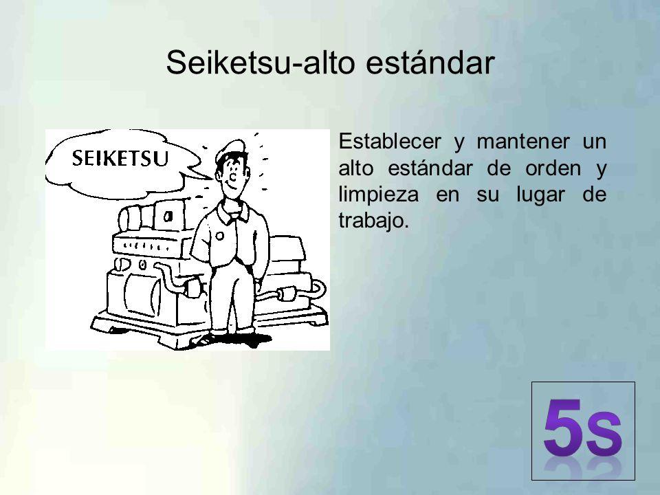 Seiketsu-alto estándar