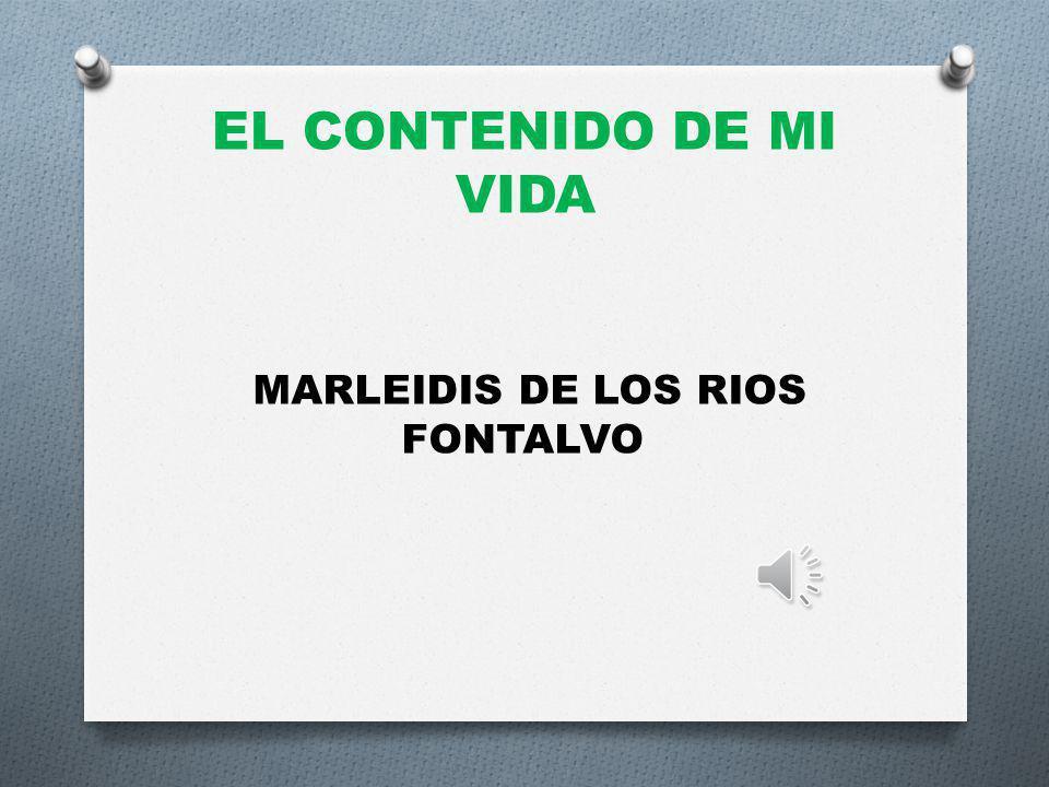 MARLEIDIS DE LOS RIOS FONTALVO