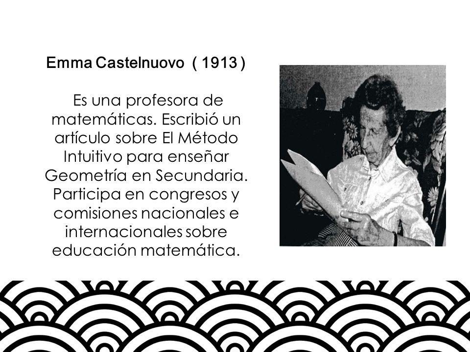 Emma Castelnuovo ( 1913 )