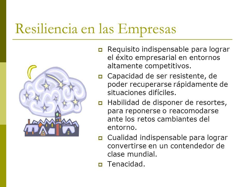 Resiliencia en las Empresas
