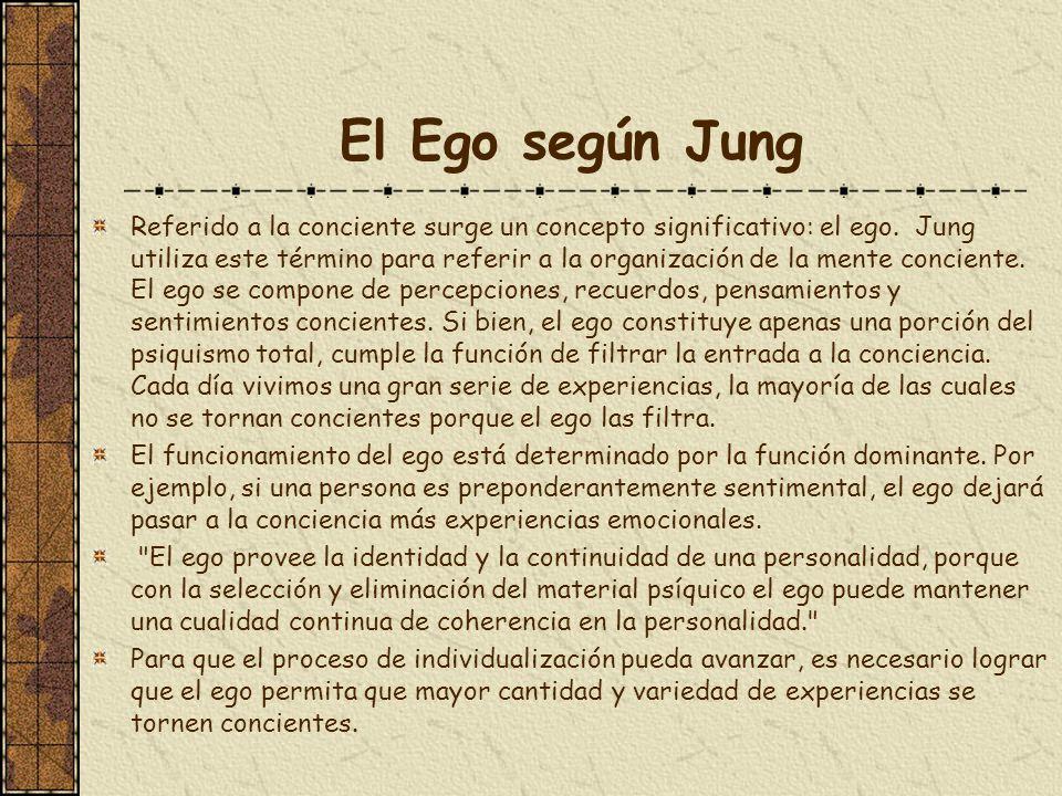 El Ego según Jung