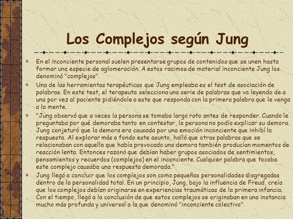 Los Complejos según Jung