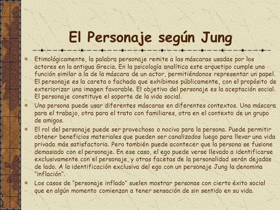 El Personaje según Jung