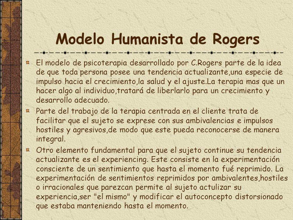 Modelo Humanista de Rogers