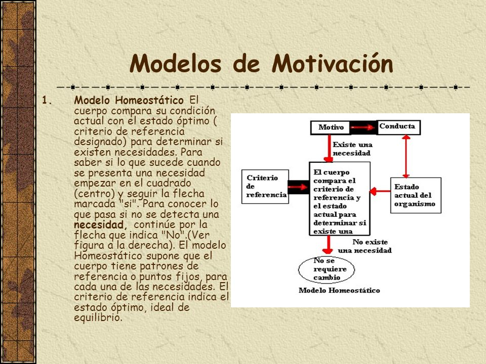Modelos de Motivación