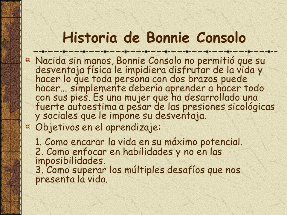 Historia de Bonnie Consolo