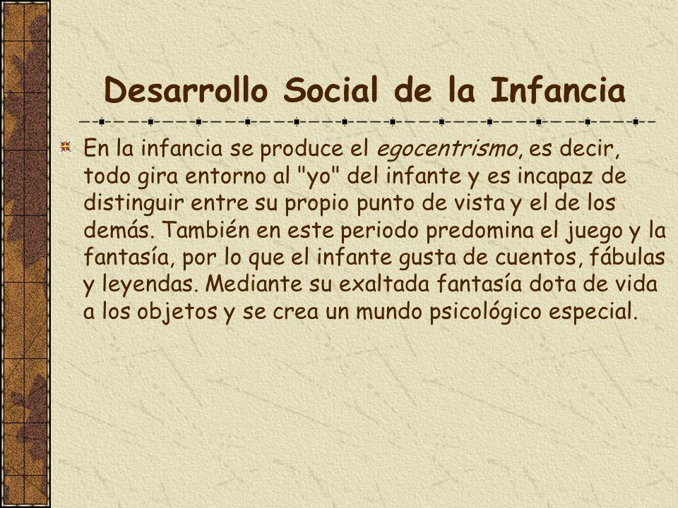 Desarrollo Social de la Infancia