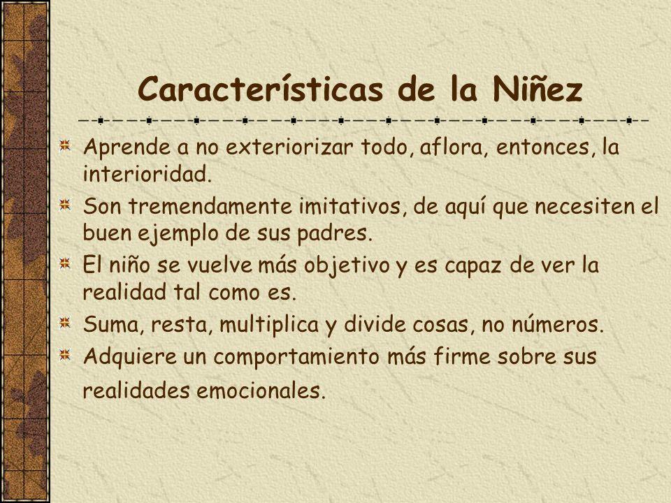 Características de la Niñez