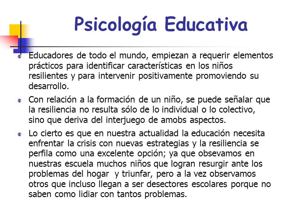 Psicología Educativa