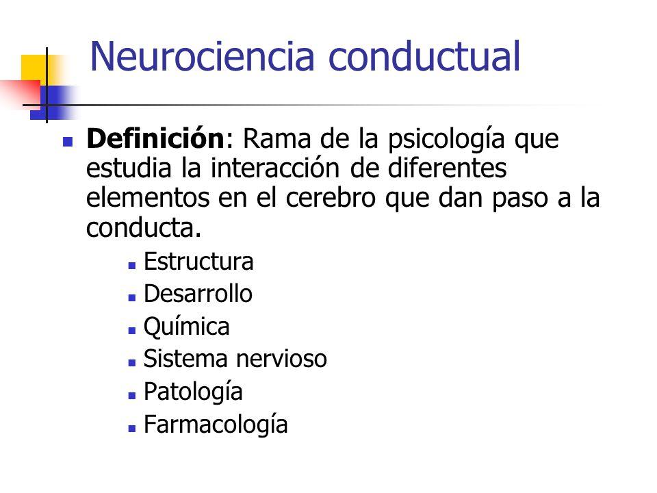 Neurociencia conductual