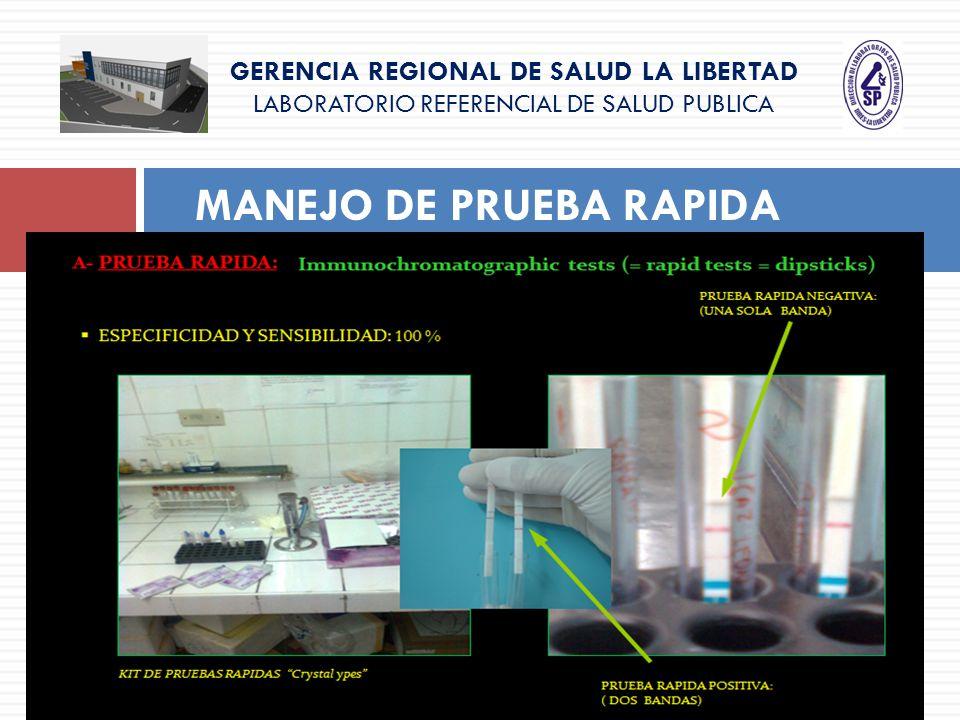 GERENCIA REGIONAL DE SALUD LA LIBERTAD