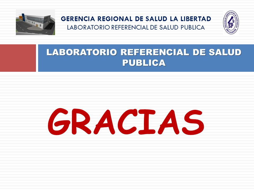 LABORATORIO REFERENCIAL DE SALUD PUBLICA