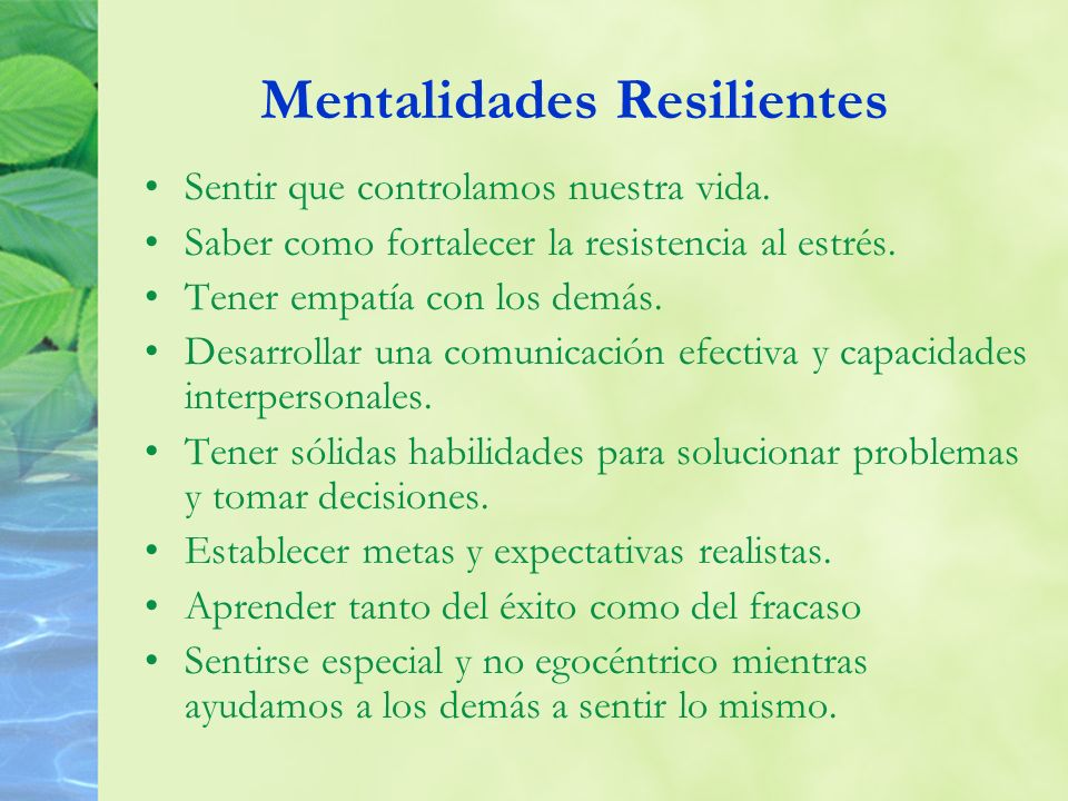 Mentalidades Resilientes