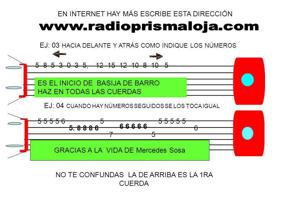 www.radioprismaloja.com EN INTERNET HAY MÁS ESCRIBE ESTA DIRECCIÓN