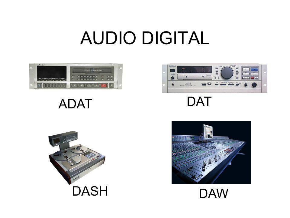 AUDIO DIGITAL DAT ADAT DASH DAW
