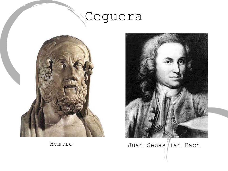 Ceguera Homero Juan-Sebastian Bach Homero,