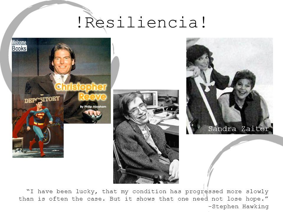 !Resiliencia! Sandra Zaiter
