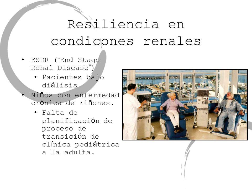 Resiliencia en condicones renales