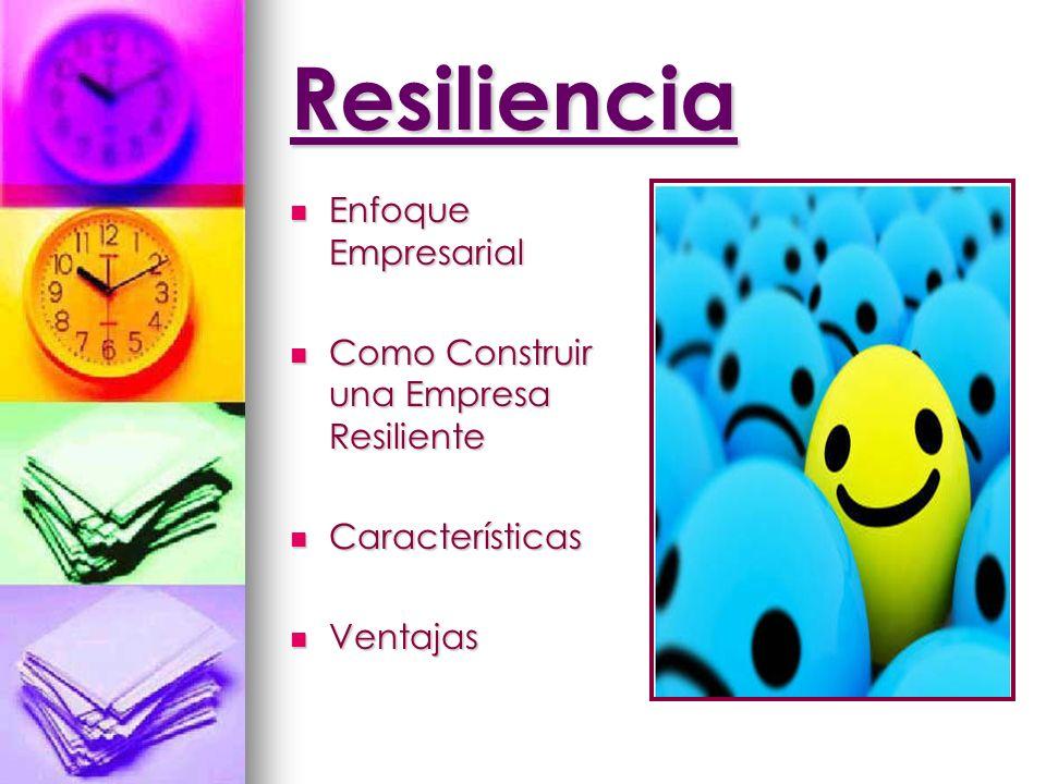 Resiliencia Enfoque Empresarial Como Construir una Empresa Resiliente