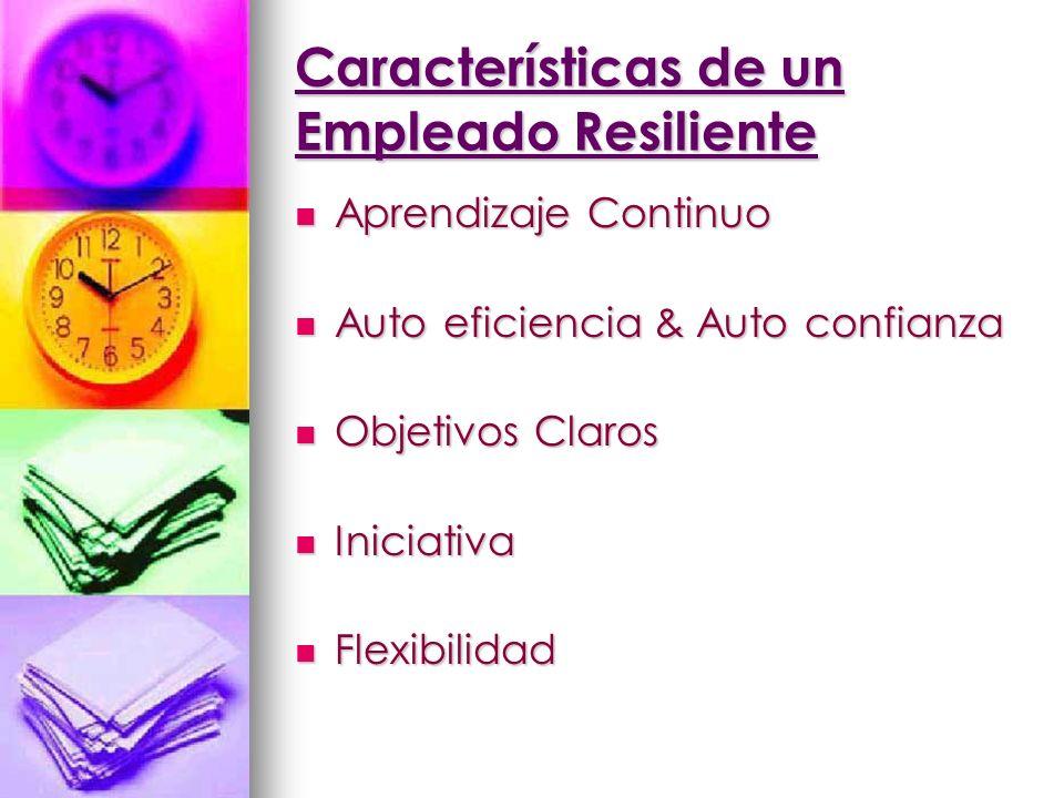 Características de un Empleado Resiliente