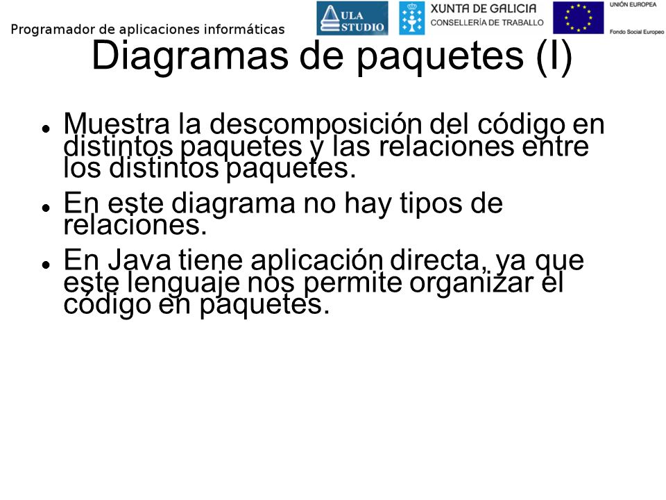 Diagramas de paquetes (I)