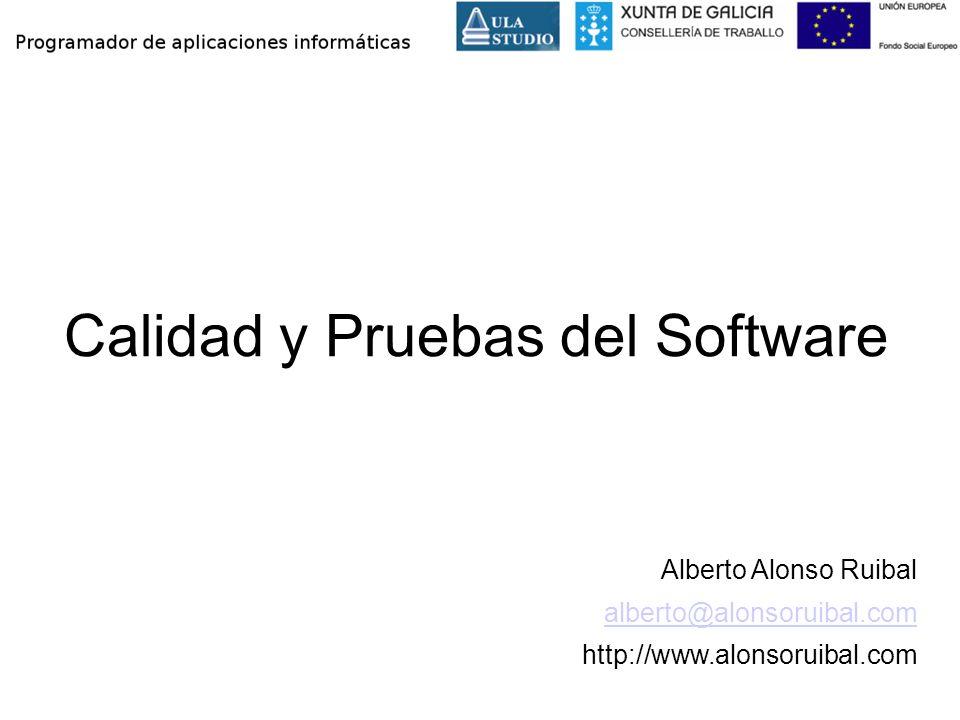 Calidad y Pruebas del Software