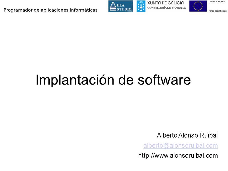 Implantación de software