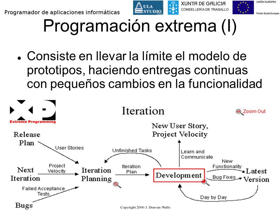 Programación extrema (I)