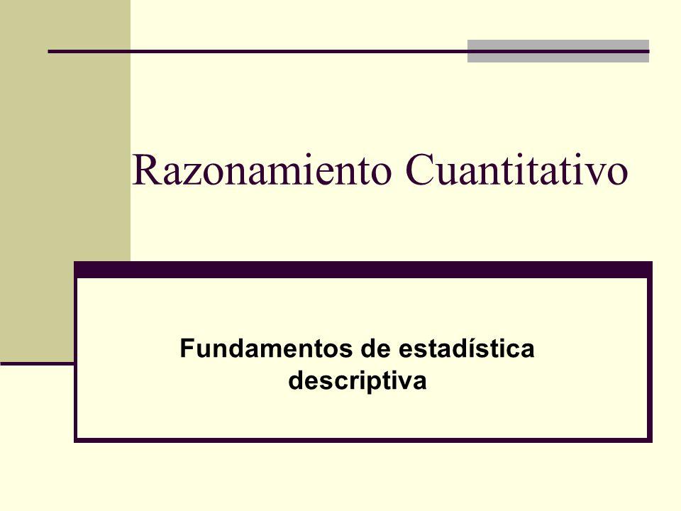 Razonamiento Cuantitativo