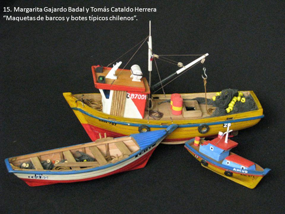 15. Margarita Gajardo Badal y Tomás Cataldo Herrera