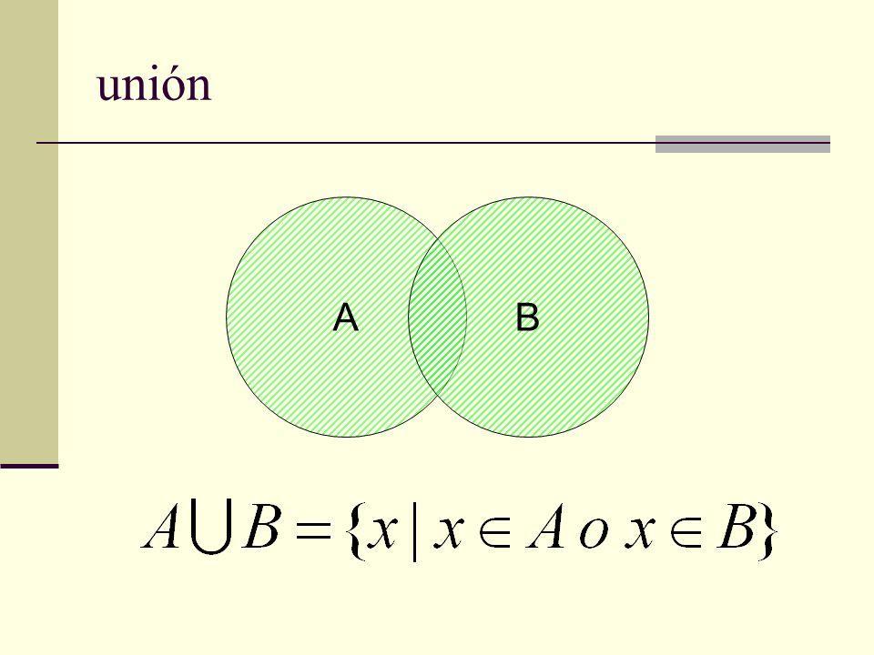 unión A B