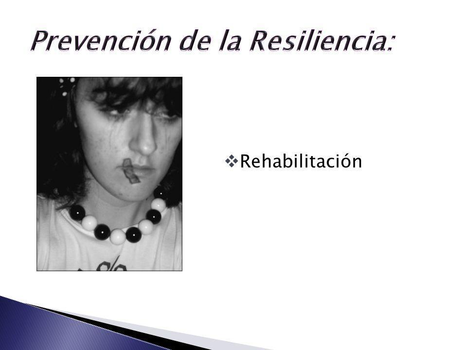 Prevención de la Resiliencia: