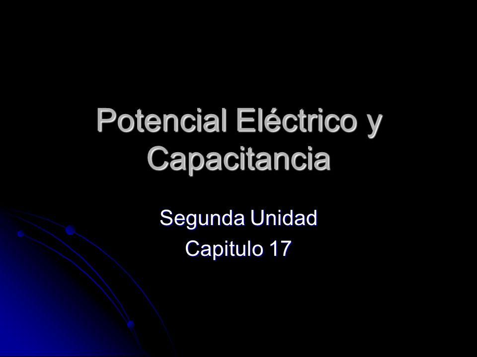 Potencial Eléctrico y Capacitancia