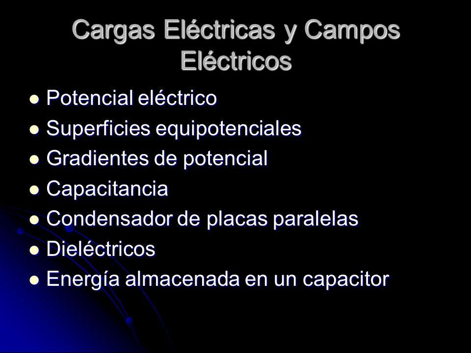 Cargas Eléctricas y Campos Eléctricos