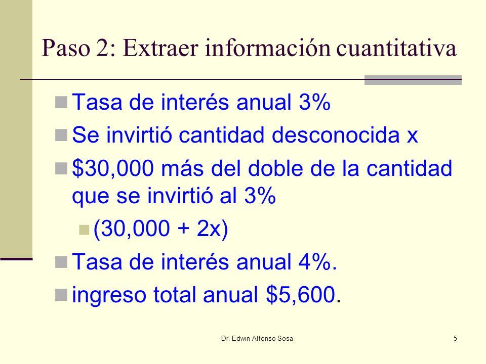 Paso 2: Extraer información cuantitativa