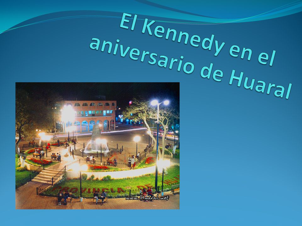 El Kennedy en el aniversario de Huaral