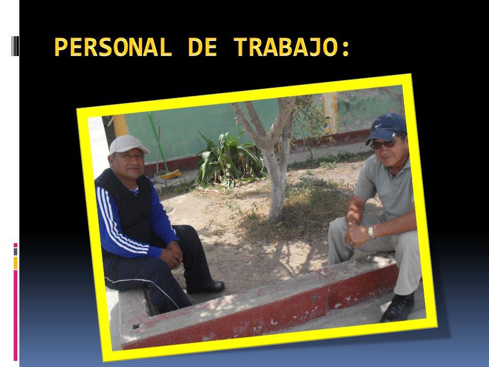 PERSONAL DE TRABAJO: